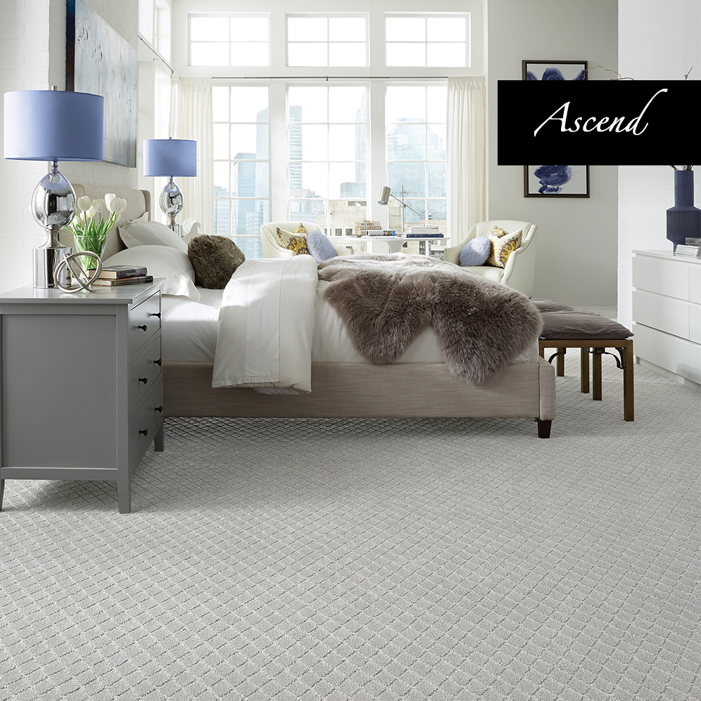 Bedroom carpet trends michael abrams brings the hotel for Wall to wall carpet trends
